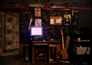Music cubby hole